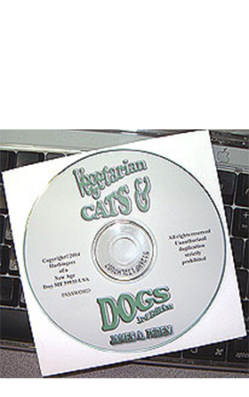<em>Vegetarian Cats & Dogs</em> CD-ROM