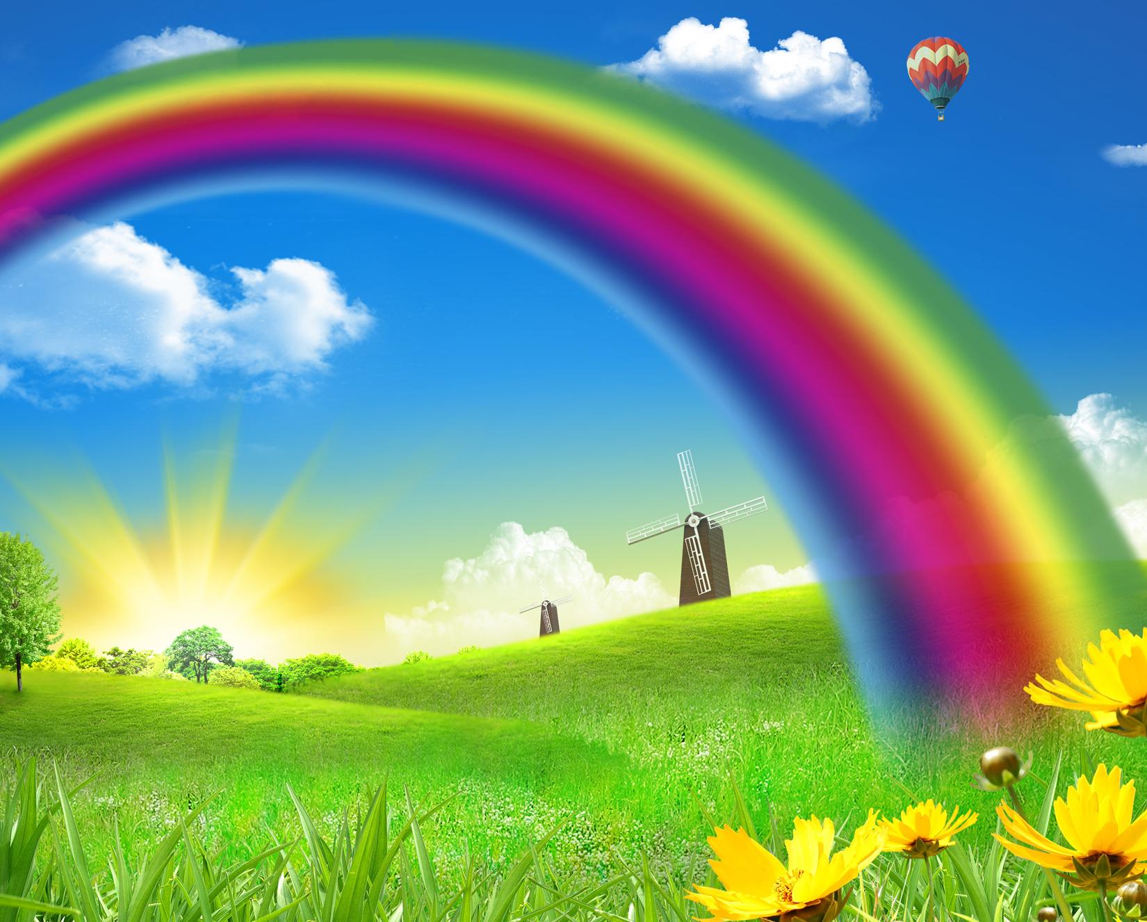 Somewhere over the Rainbow Vegan